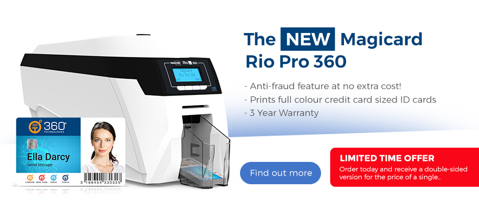 The New Magicard Rio Pro 360