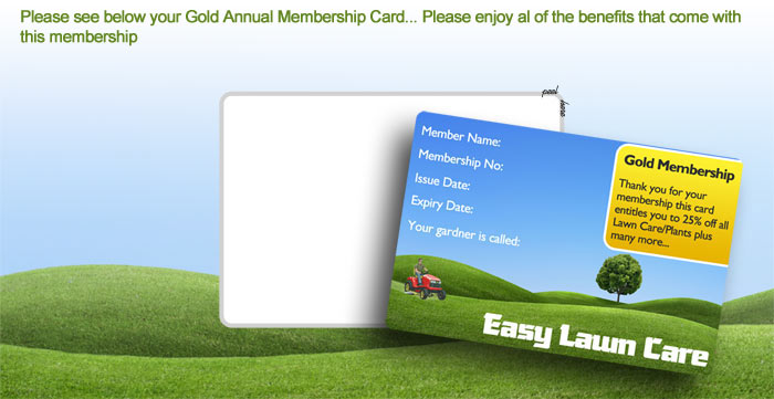 Peel Out Membership Cards