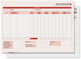 Contractor Time Sheets