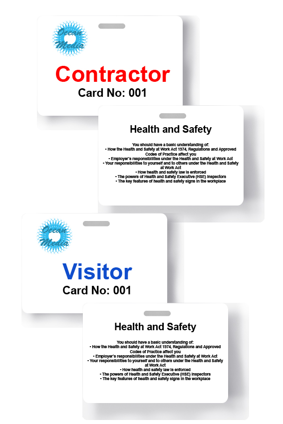 cards health and safety
