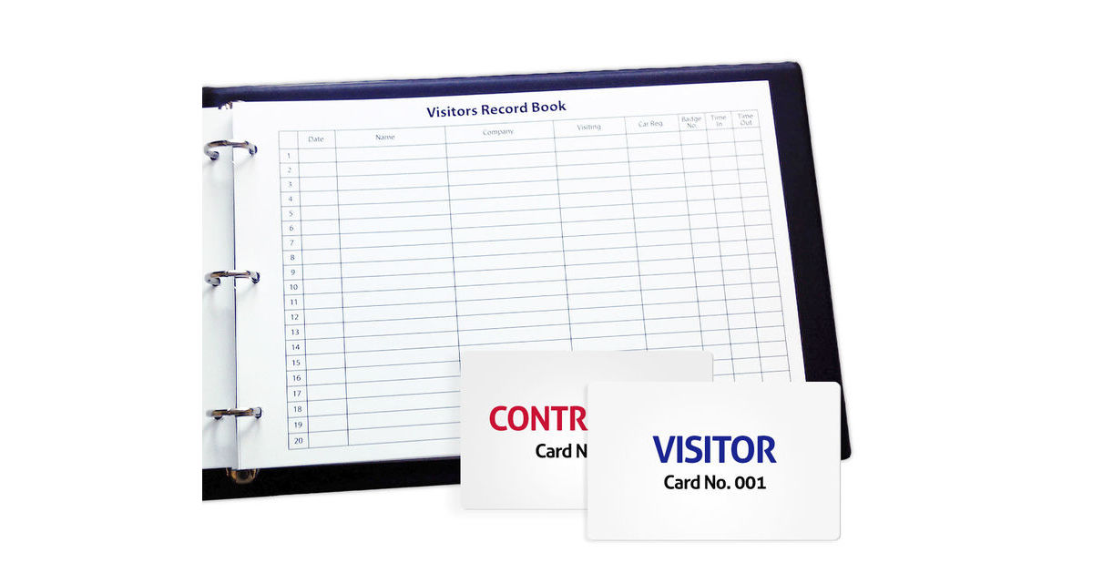 Visitor Books Our Simplest Method To Control Your Visitors