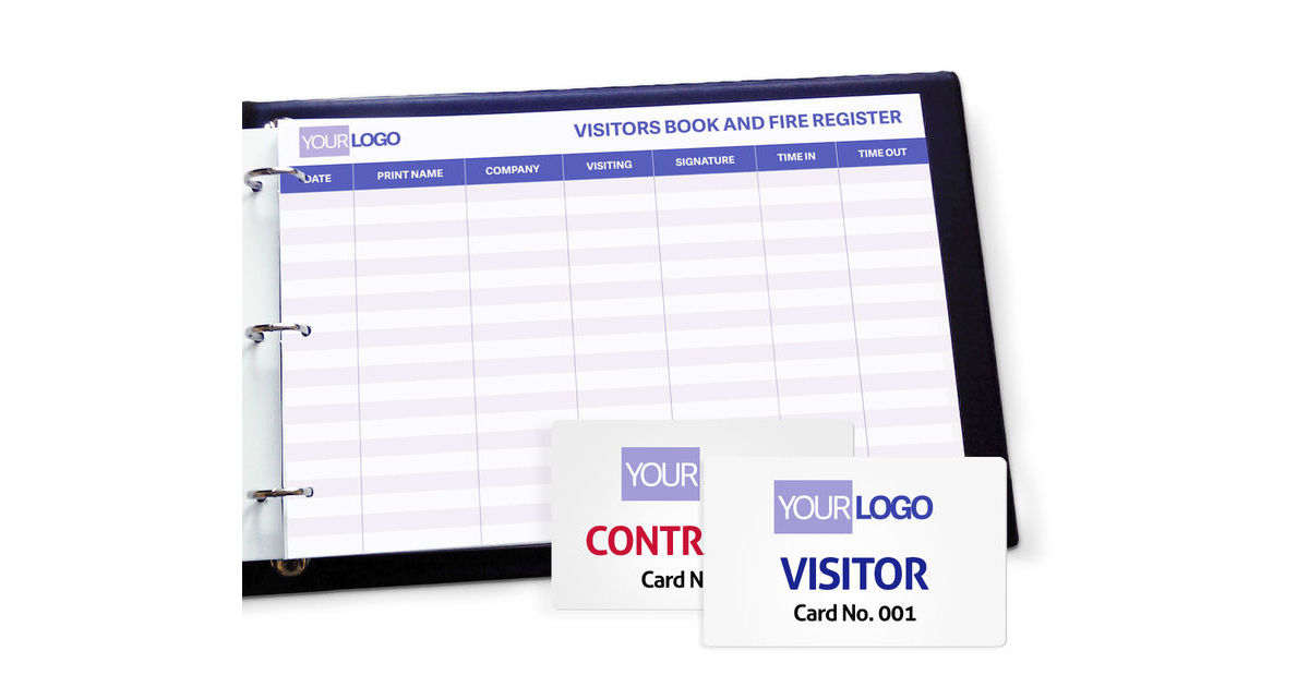 Personalised Visitor Books
