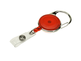 Easy-Badge-reel-with-strap-clip-Red