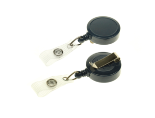 Medium-Duty-Card-Reel-with-Strap-Clip-Navy-Blue