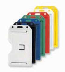 Multiple Portrait Plastic ID Card Holder