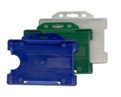 Solid Plastic ID Holders