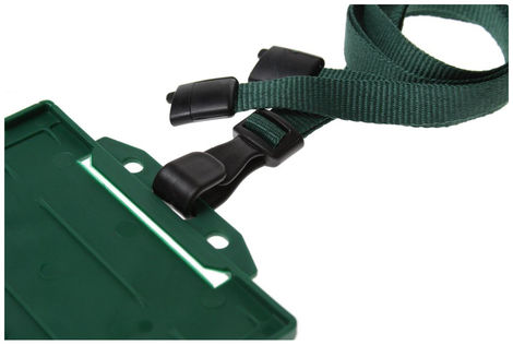 DARK-GREEN-J-CLIP-LANYARD1