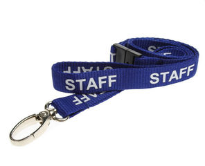 STAFF-BLUE-METALCLIP-LANYARD1