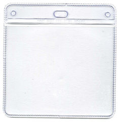 Large Plastic Wallet 100 Pack 86mm x 104mm