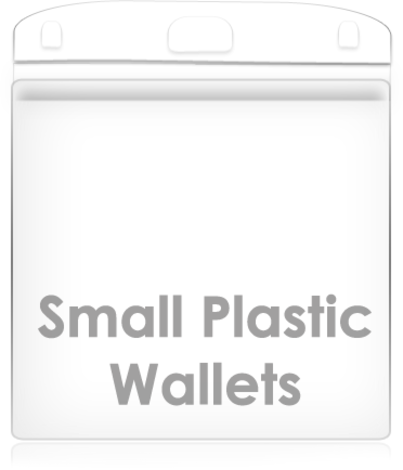 Small Plastic Wallet