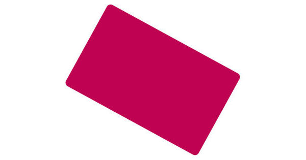 Cranberry Coloured Cards 100 Pack
