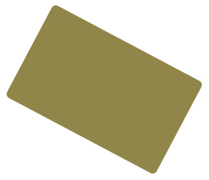 Green Gold Coloured Cards 100 Pack