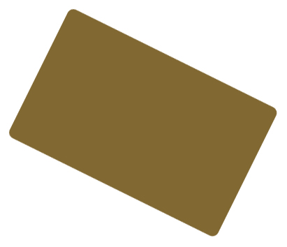Gold Coloured Cards 100 Pack