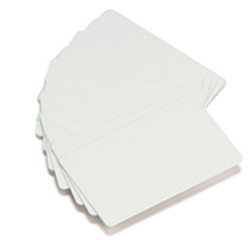 White Plastic ID Cards