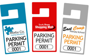 Rear View Mirror Car Permits