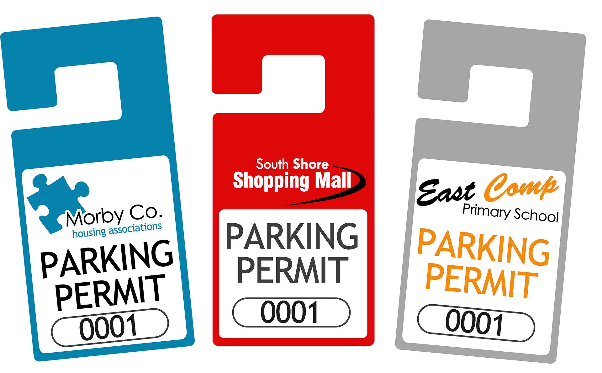 Rear View Mirror Car Permits