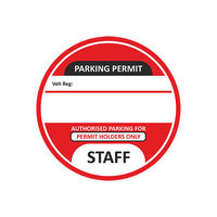 Staff-Parking-Permit-Red