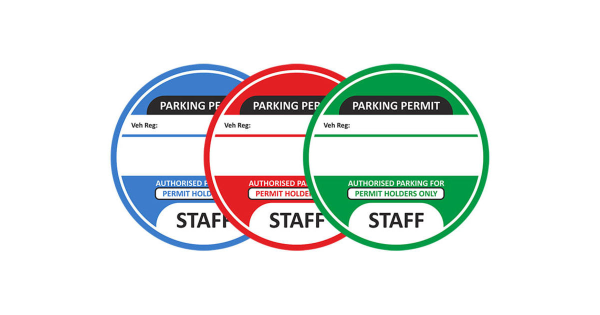 graphic regarding Printable Parking Pass named Workforce Parking Makes it possible for