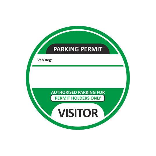 Visitor-Parking-Permit-Green