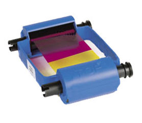 Zebra YMCKOi Colour Ribbon/Cartridge, 200 Images Per Roll