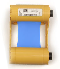 Zebra Blue Mono Ribbon/Cartridge, 1000 Images Per Roll (P/N 800033-804)