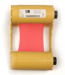 Zebra Red Mono Ribbon/Cartridge, 1000 Images Per Roll (P/N 800033-802)