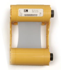 Zebra Silver Mono Ribbon/Cartridge, 1000 Images Per Roll (P/N 800033-807)