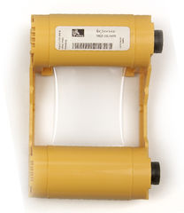 Zebra White Mono Ribbon/Cartridge, 850 Images Per Roll (P/N 800033-809)