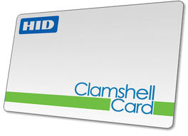 Clamshell Access Control Cards