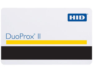 HID II RF Duo Proximity Cards with Magnetic Stripe 1336 - Pack of 100