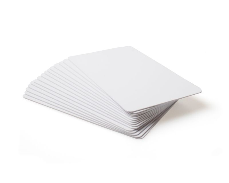 Blank White Ultracards 081754 - Pack of 100
