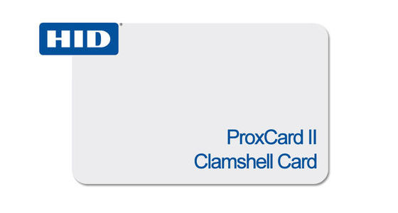 1326 ProxCards II Clamshell Card