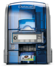 Datacard SD360 Automatic Dual-Sided ID Card Printer