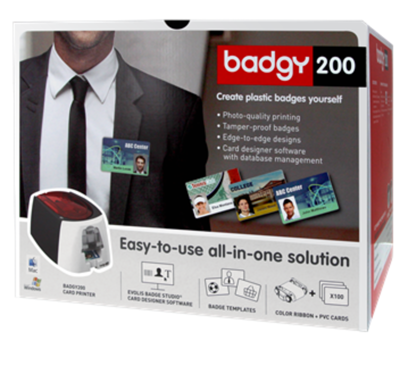 Evolis Badgy ID Printer