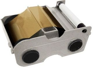 Fargo 45107 DTC1000Me/C50 Gold Printer Ribbon