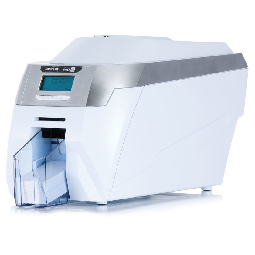 Lesar uk id card printers staff id cards visitor management magicard rio pro id card printer reheart Gallery