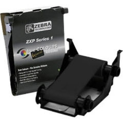Zebra ZXP Series 1  ZXP Series 1 Load-N-Go black (k) monochrome ribbon