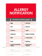 Food Allergen Labels