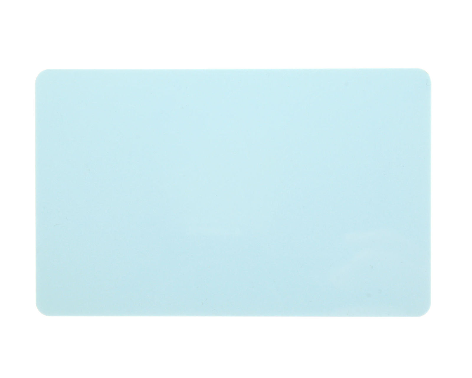 Light Blue Coloured Cards 100 Pack - 760 Micron