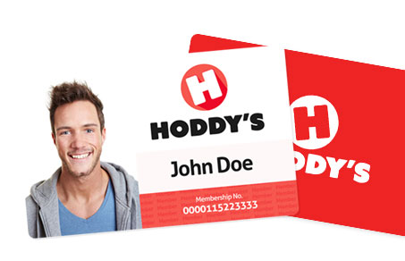 Hoddys ID Card With Reverse