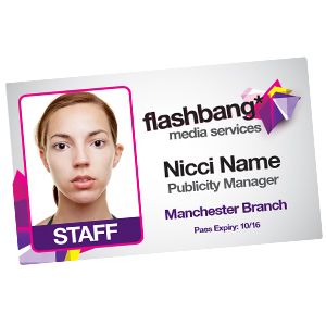 Staff id cards id badges photo id cards for Staff id badge template
