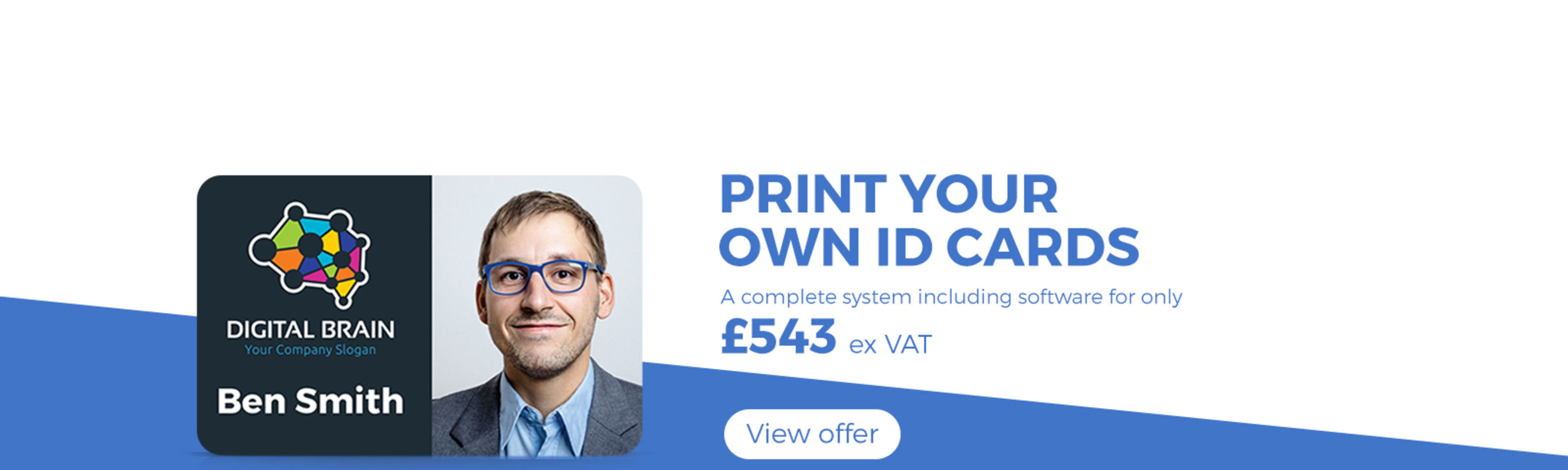 ID Card Printer Only £543