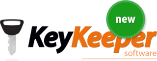 Key Keeper Logo - Simple Windows based software to help control and manage your keys.