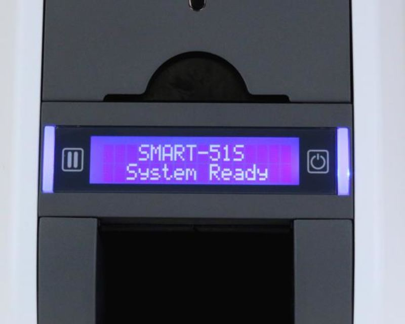 A photograph of the Smart 51s LCD screen.