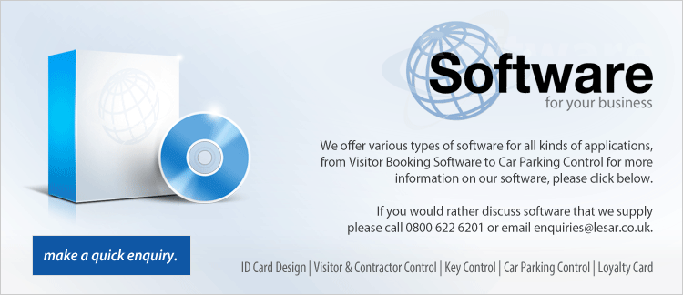 Software for your business | We offer various types of software for all kinds of applications, from Visitor Booking Software to Car Parking Control for more information on our software, please click below.
