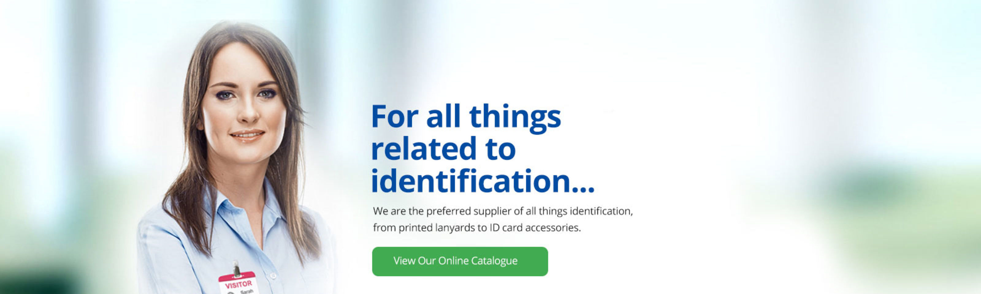 For all things identification you have Lesar UK, we specialise in Visitor Management, Staff Identification & Parking Permits