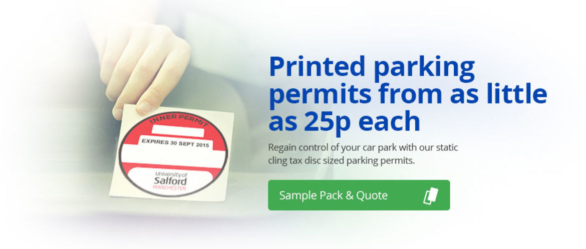 Personalised Car Park Passes With Static Cling To Your