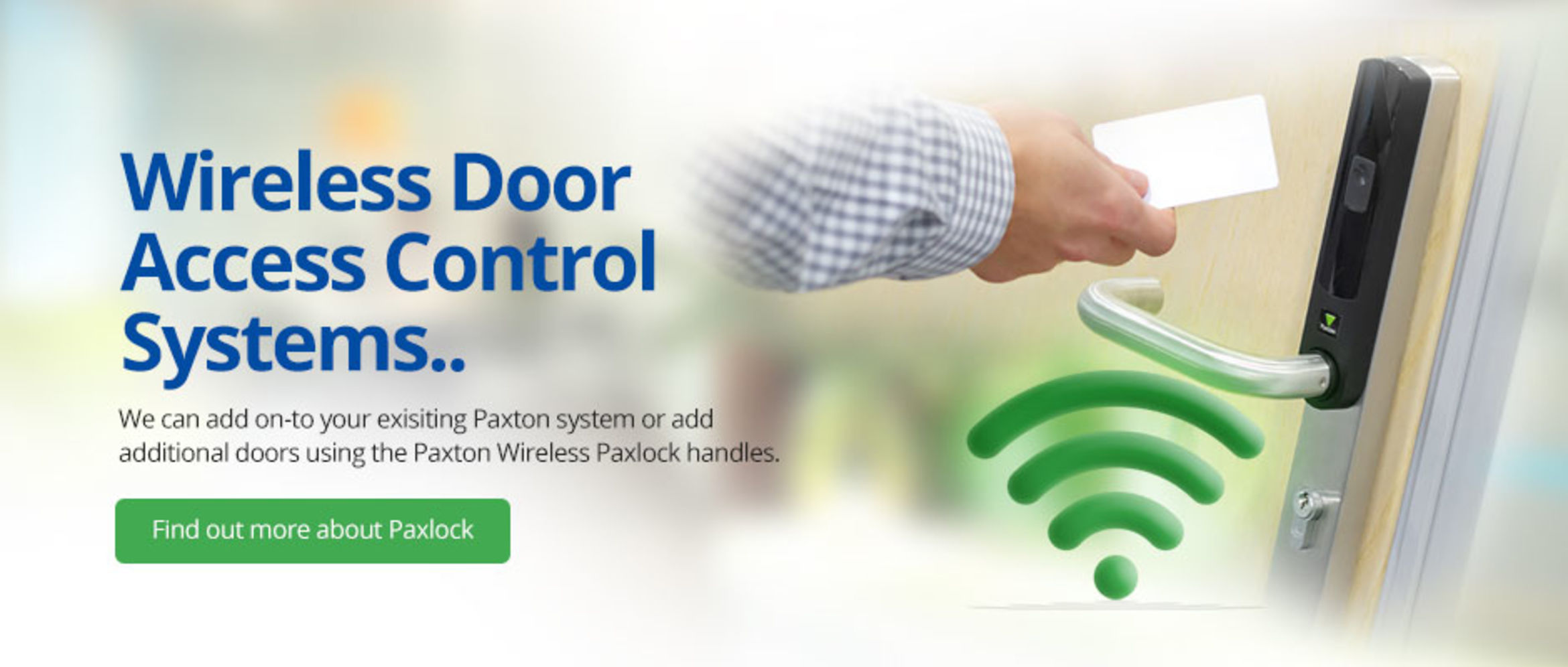 Paxton Wireless Systems