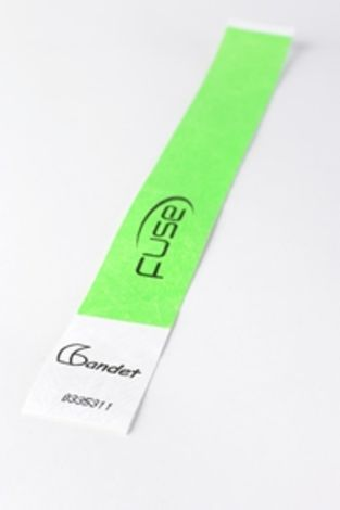 Tyvek Wristband Green