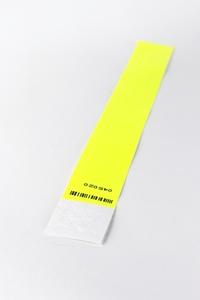 Tyvek Wristband Yellow